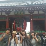 フィリピンの友人とゆく〜浅草4人旅〜