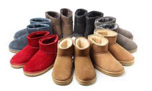 (日本語) Sheepskin Boots